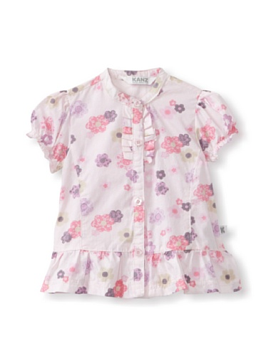 KANZ Baby Floral Blouse (Pink)
