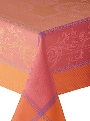 Garnier-Thiebaut Nymphee Tablecloth (Peche Rosee)