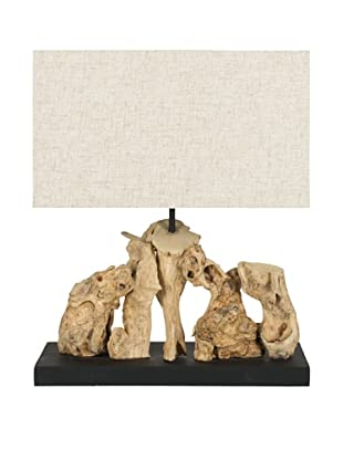 Safavieh Aragon Bleached Root Wood Table Lamp