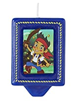 Wilton 2811-2105 Disney Jake and The Never Land Pirates Birthday Candle