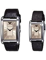 Emporio Armani Analog Silver Dial Unisex Watch - AR9040