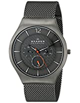 Skagen Grenen Analog Grey Dial Men's Watch - SKW6146