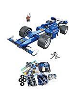 Cogo DIY F1 Racing Sports Car Model Building Blocks Set for Children Ages 6+ Years
