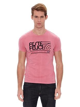 Ellesse Camiseta Basic (Fucsia)