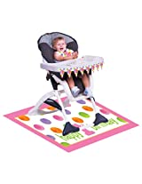 Big Dots 1st Birthday Girl High Chair Decoration Kit