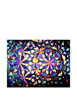 Legendarte Panel Decorativo Luminoso Riflessi Nel Vetro 60X80 Cm multicolor