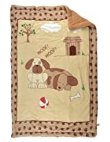 Blanket for growing baby snug. MM-98043 Brown
