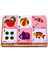 Little Genius Alphabets and Number Cube Set, Multi Color