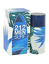 CAROLINA HERRERA FO 212 Surf 3.4 oz Eau De Toilette Spray (Limited Edition 2014)