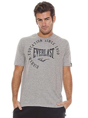 Everlast Camiseta Rain (Gris Claro / Azul Oscuro)