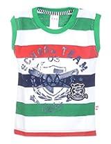 GAG Boys Cotton T-Shirt (Green )(16)