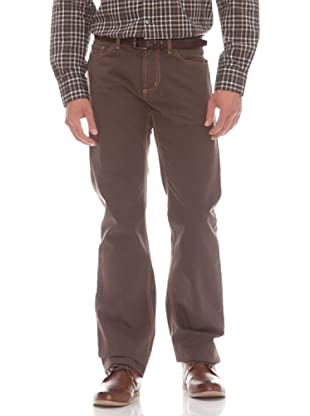 Gant Pantalón 5 Bolsillos (marrón)