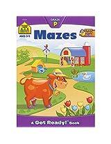 Preschool Workbooks 32 Pages-Mazes