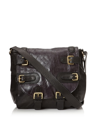 CC Skye Women's Courtney Taylor Buckle Saddle Bag (Black)