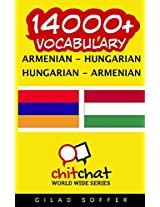 14000+ Armenian - Hungarian, Hungarian - Armenian Vocabulary