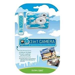 Clouds 3 in 1 Digital Fun Camera