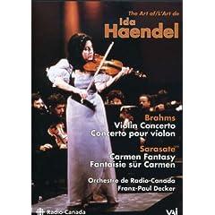 輸入盤DVD イーダ・ヘンデル(Vn) イーダ・ヘンデルの芸術 Art of Ida Haendelの商品写真