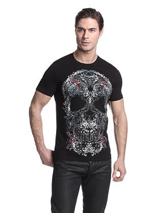 Just Cavalli Men's Graphic T-Shirt (Black)