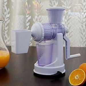 Amiraj Fruit & Vegetable Juicer - White Juicer - 01