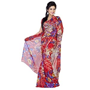 Attractive Printed Saree For Women