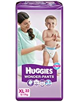 Huggies Wonder Pants Diapers (Extra Large) - 32 Count