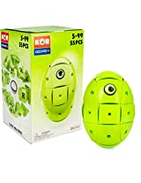 Geomag Kor Egg Green 55 Piece Creative Magnet Playset Swiss Made Part Of Geomags World Famous Award Winning Product Line Ages 5 And Up