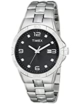 Timex Mens T2P2619J Crystal-Accented Stainless Steel Watch