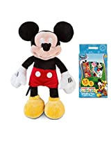 "Mickey Mouse Clubhouse Plush 12"" And Matching Game Gift Set"