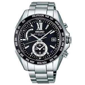 【クリックで詳細表示】[セイコー]SEIKO 腕時計 BRIGHTZ ブライツ ワールドタイム 電波ソーラー ブライトチタン ブラックダイヤル SAGA099 メンズ