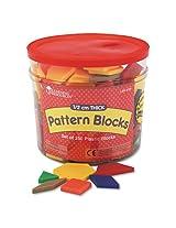 Learning Resources - LER0134 Pattern Blocks, Grades Pre-K and Up-LRNLER0134