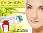Skin Dermaroller 1.0Mm Comes With Its Own Protective Travel Storage Case Microneedle Therapy Dermatology System With Medical Grade Micro Needle. Effective For Treating Wrinkles Stretch Marks Acne Scars Cellulite Anti-Aging Hair Loss & Enhancing Beauty...