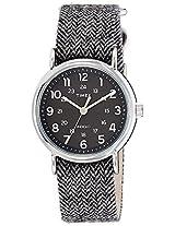Timex Weekender Analog Black Dial Unisex Watch - TW2P72000