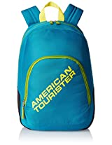 American Tourister Jasper Blue Casual Backpack (JASPER 01_8901836116540)