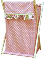 My Baby Sam Paisley Splash Hamper, Pink (Discontinued by Manufacturer)