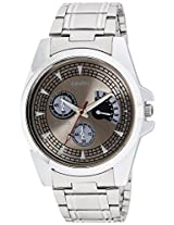 Calvino Analog Black Grey Men's Watch- CGAC-142011D