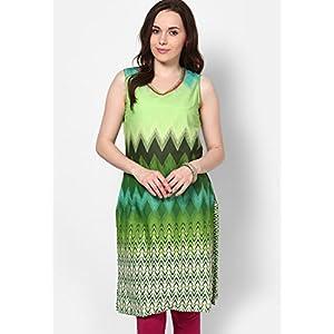 Cotton Green Printed Kurta