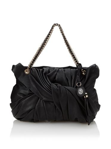 Ivanka Trump Women's Jade Twist Shoulder Bag, Black
