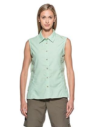 Fratelli Campagnolo Camisa Cuadros Sin Mangas (Limón / Verde)
