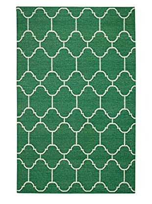 Genevieve Gorder Serpentine Rectangle Flat Woven Rug