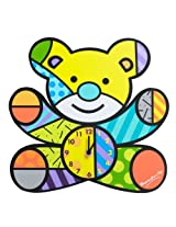 Gund Baby Britto Bebe From Enesco Wall Clock Clock, Bear, 12 (Discontinued By Manufacturer) By Gund