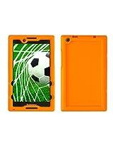 Bobj for Lenovo Tab 2 A8-50, A8-50F - BobjGear Protective Tablet Cover (Outrageous Orange)