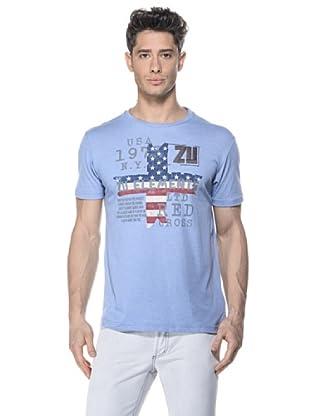 Zu-Elements Camiseta Murray (Azul cielo)