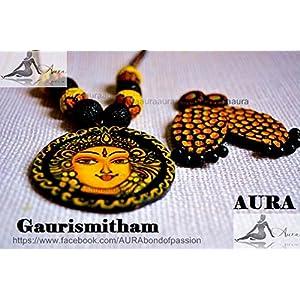 AUrA-EArTH Gaurismitham jewellery Set