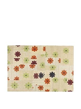 Alfombra 230X160 Yute Floral Multicolor