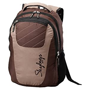 dash 04 casual backpack, brown