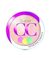 Physicians Formula Super CC+ Color-Correction + Care CC+ Powder SPF 30, Light/Medium, 0.3 Ounce