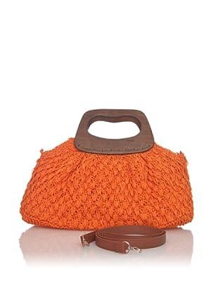 Chalada Bolso Rafia (Naranja)