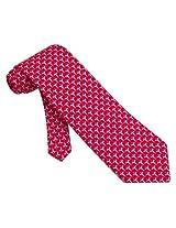 100% Silk Red Caduceus Medical Doctor Necktie Tie Neckwear