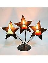 Chinhhari Arts Christmas Candle Stand - 3 Holders