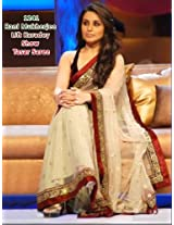 Bollywood Replica Of Rani Mukherjee Tasar Net Saree
